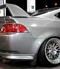 'SIlver Acura RSX, on Chrome Rims!