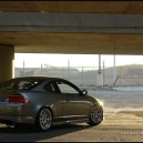 Sick'ist Chrome on Acura RSX rims i've seen!