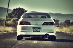 PROGRESS – Acura RSX White From Behind