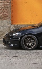 Black Acura RSX & Bronze Rims – SICK!