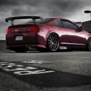 Dished Rims & Crazy Acura RSX slammed!