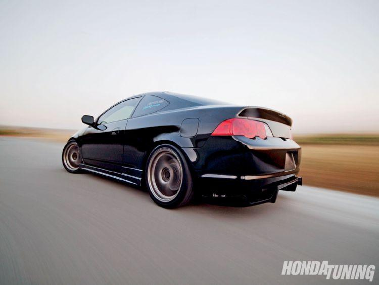 This is a flush black Acura RSX! Do you like it? - Rpm City