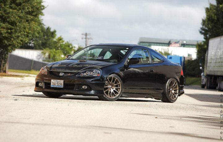 One Of The Nicest Black On Bronze Rims Acura RSX Rpm City - Acura tl gold rims