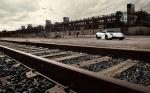 Beautiful Picture Taken Of Lamborghini By Railroad tracks!