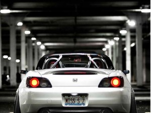 Honda S2000 In WHITE – OHHH THE STANCEE!