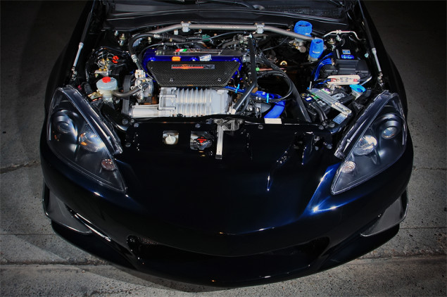 Acura RSX Supercharger Under The Hood Beautiful Rpm City - Acura rsx hood