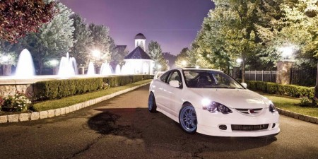 'Beautiful Simple White Acura RSX - DC5- Done Right! Strait!
