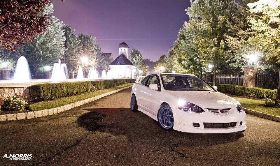beautiful simple white acura rsx - dc5- done right  strait