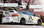 White Acura RSX, Honda DC5 – Graffitio Paint!