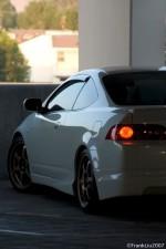 White Acura RSX Type-S