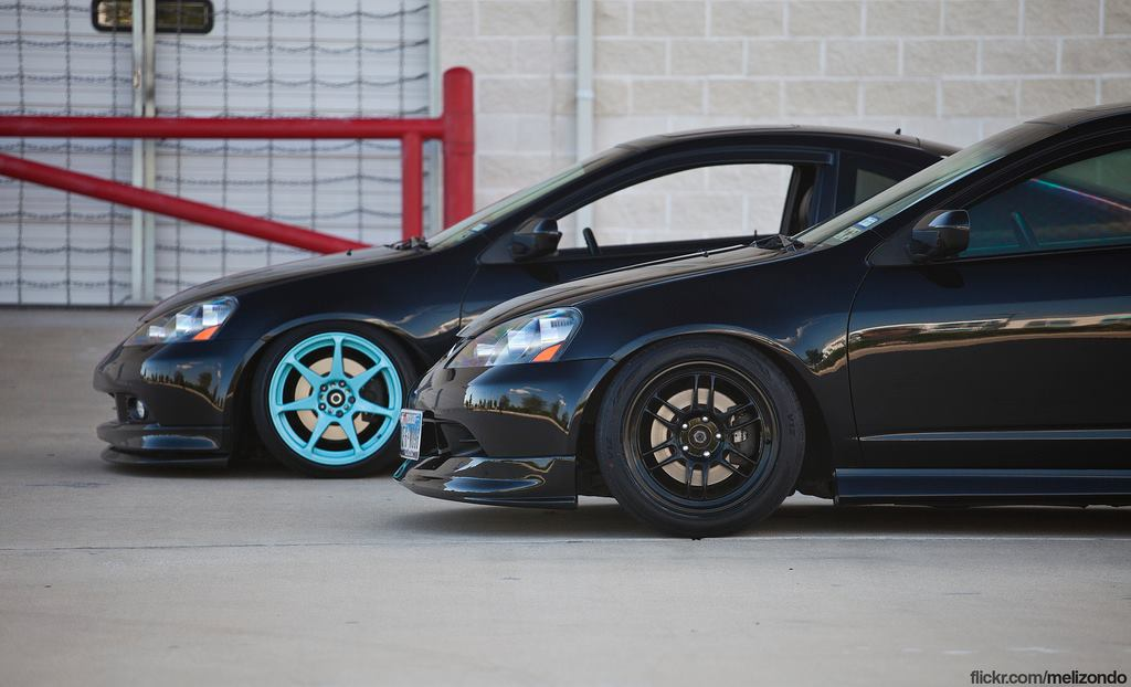 2 Sick n' Slammed 2005 Black Acura RSX Type-S - Rpm City