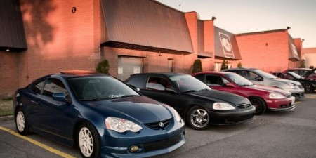 'My rsx at monday meet!