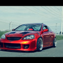 Sick Red RSX + Silver Rim Job!
