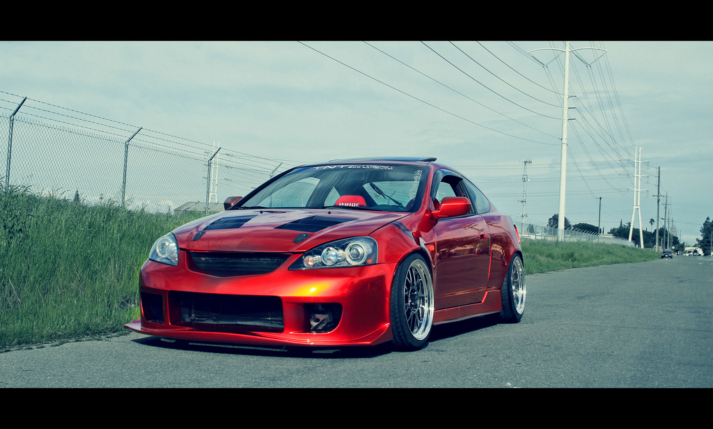 sick red rsx silver rim job rpm city