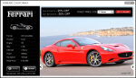 Ferrari California – Ticket Price £20 – $32