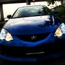 My Daily RSX.  Diff shots on diff days.
