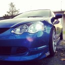 My RSX Blushing..
