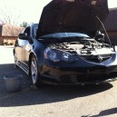 The Acura rsx