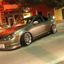 Silver RSX With Chrome Rims!