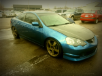 My K-PROED K20 RSX-S AFTER ITS DAILY SHOWER  :))