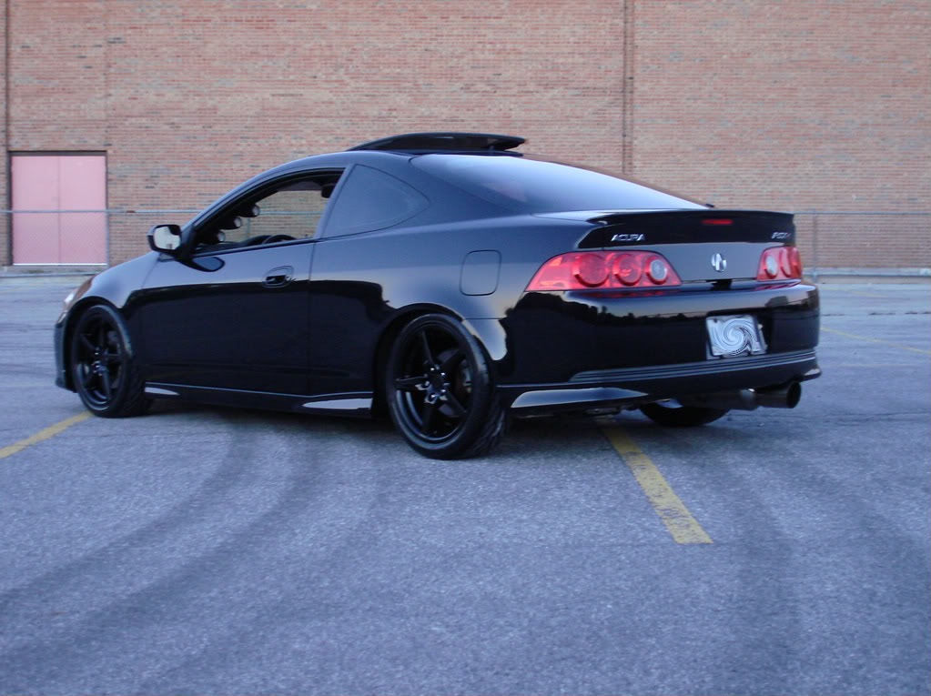 black acura rsx with gold rims. black acura rsx with gold rims