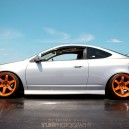 Love this Silver RSX & Orange rim combo!