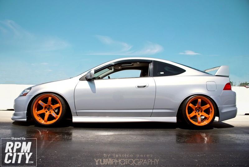 Acura Rsx Silver Volk Te Orange
