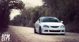 White Acura RSX — Good Morning RPM CITY!