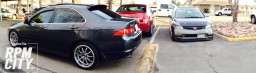 2006 Acura Tsx and 2006 Civic Si