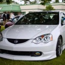 Check this White RSX – #SLAMMED FTW