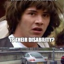 What if there disability is bad parking? #Lolzbeat