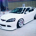 White RSX & Silver Chrome / white rims!