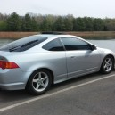 2002 Rsx Type S, on Clubrsx lowered springs