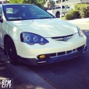 Rsx-s 04, with new stage 3 white pearl paint
