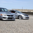 Another of my RSX and bros Evo!(: