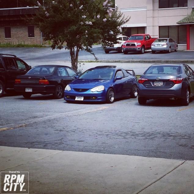 Acura Rsx Type S #Sleepy
