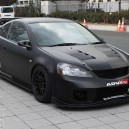# DC5 # Matte Black # UK Racing Team