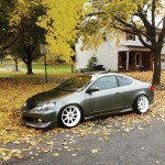 Work emotion wheels,BC coilsovers come together to make a perfectly fitted and well put together Rsx from Allentown PA