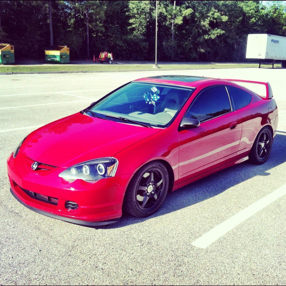 One Of The Nicest Black On Bronze Rims Acura RSX!